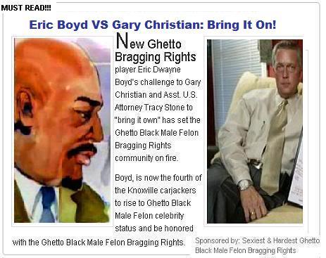Eric Boyd Kicks Gary Christian's Ass: Bring It On!