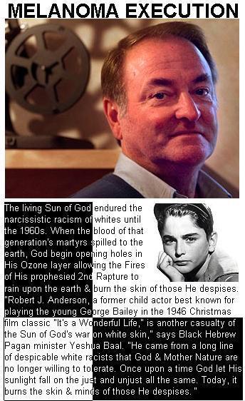 Robert Anderson Melanoma Execution