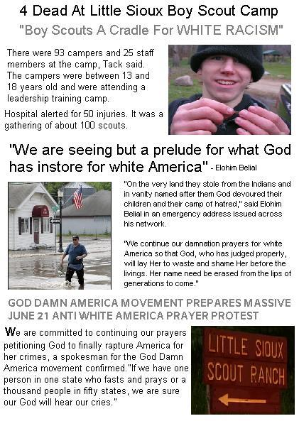 God Damn America Blacks Praise Iowa Tornado