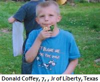 "I want Shelia and Gale Muhs for my neighbor: 7 year old Donald Coffey shot to death for ""trespassing!"" But get this, Joe Horn, he wasn't trespassing! LOL!"