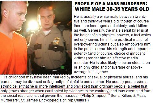 Christopher Coleman & Profile of a Mass Murder: White Male