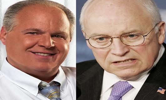 Rush Limbaugh & Dick Cheney2012
