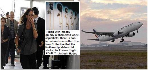 "Alien ""Smackdown"" Mothership Strikes Air France Flight 447"