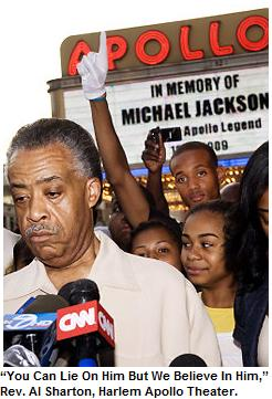 """""""You Can Lie On Him But We Believe In Him,"""" Rev. Al Sharton, Harlem Apollo Theater (UPJ MJ Tribute)"""