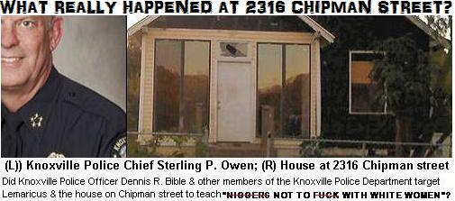 Channan, Christopher & The Knoxville Police: What Really Happened on Chipman Street?