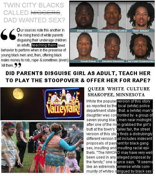 Valleyforge: White Parents Teaching Children to Play Stoopover When Black Males Pass