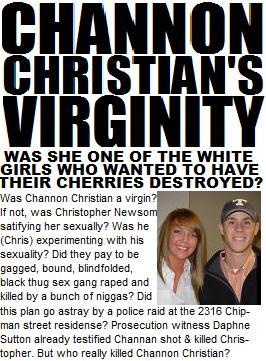 Channon Christian's Virginity