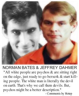 The White Male Sociopath: From Norman Bates to Jeffrey Dahmer
