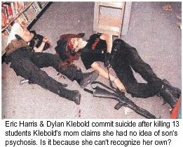 Susan Klebold Mom of Columbine Killer Dylan Klebold Claims: 'No inkling' Son Suicidal; Refuses to Acknowledge Own Psychosis