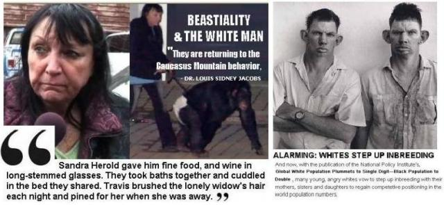 White Inbreeding & Beastiality: America's Hidden Behavior