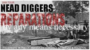Join Bow Reparations Avenger & Artist Nead Diggers National BOW Reparations Tour
