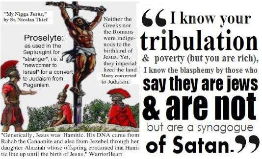 The Great White Lie: The Jews Killed Jesus; & Israel, The Synogogue of Satan