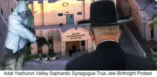 Adat Yeshurun Valley Sephardic Synagogue True Jew Birthright Protest